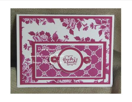 fresh florals berry burst card with logo