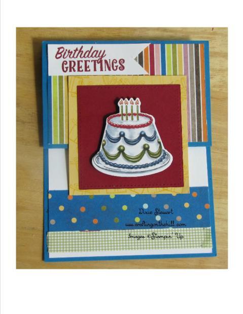 bday fold card 2