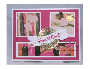 love sampler card with logo