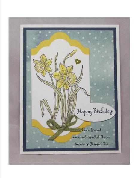 daffodil card w logo