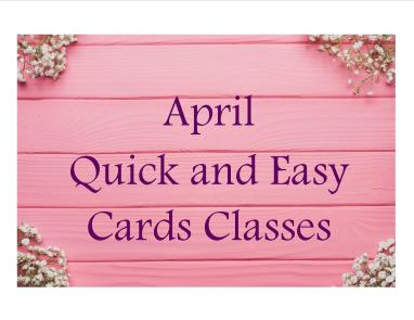April cards class