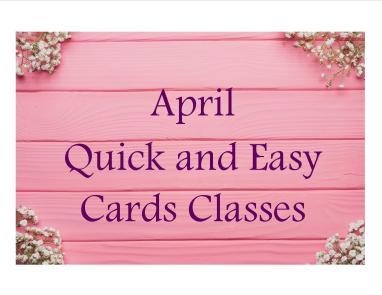 April cards class