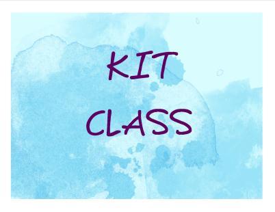 KIT CLASS BANNER