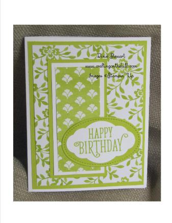 lemon lime fresh floral card with logo