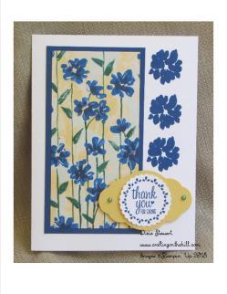 Garden Impressions DSP blue
