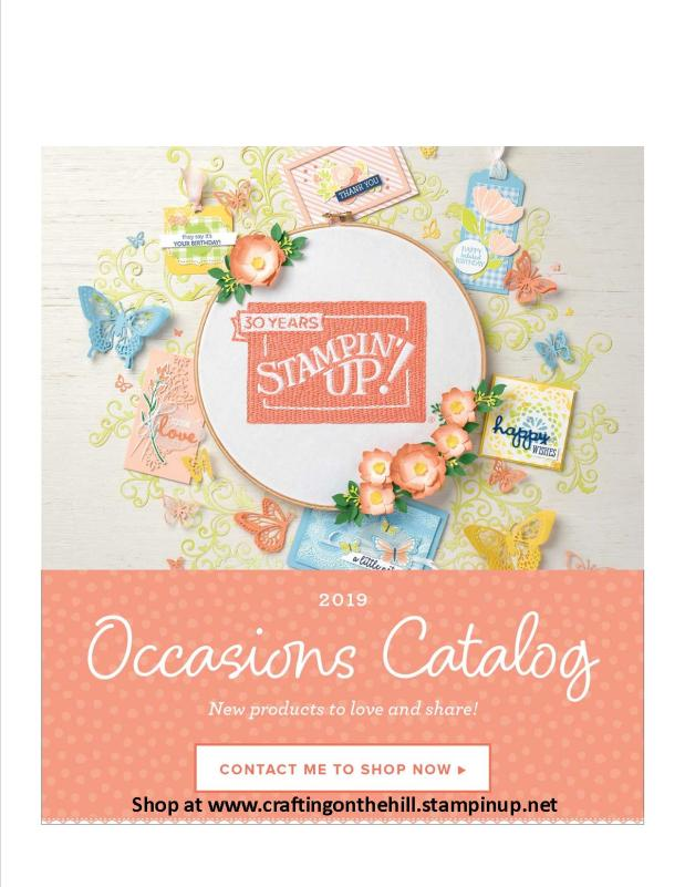 Occasions and Sale-A-Bration Catalogs are HERE!!