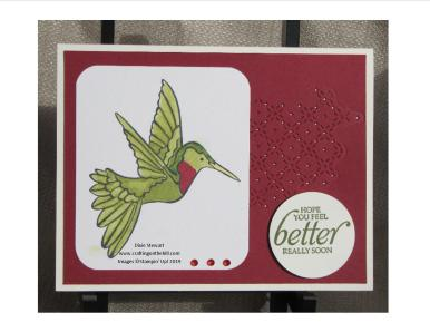 hummingbird 2 w logo