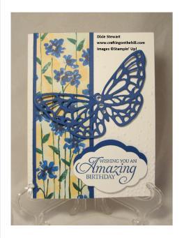 Garden impressions w butterfly w logo
